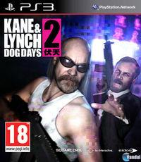 Portada oficial de Kane & Lynch 2: Dog Days para PS3