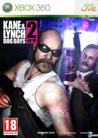 Portada oficial de Kane & Lynch 2: Dog Days para Xbox 360