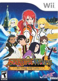 Portada oficial de Sakura Wars: So Long, My Love para Wii