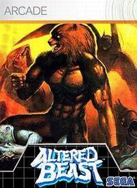 Portada oficial de Altered Beast XBLA para Xbox 360