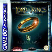 Portada oficial de El Señor de los Anillos para Game Boy Advance