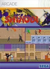 Portada oficial de Shinobi Arcade XBLA para Xbox 360