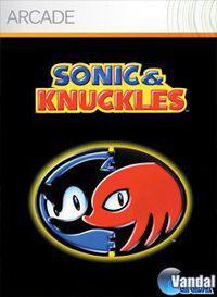 Portada oficial de Sonic & Knuckles XBLA para Xbox 360