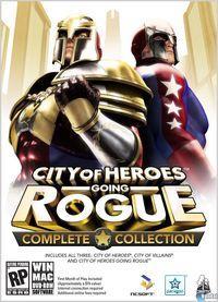 Portada oficial de City of Heroes: Going Rogue para PC