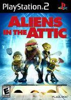 Portada oficial de de Aliens in the Attic para PS2