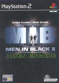 Portada oficial de Men in Black: Alien Escape para PS2