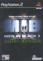Portada oficial de de Men in Black: Alien Escape para PS2