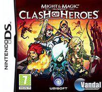 Portada oficial de Might and Magic: Clash of Heroes para NDS