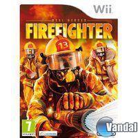 Portada oficial de Real Heroes: Firefighters para Wii