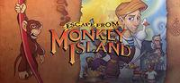 Portada oficial de La Fuga de Monkey Island para PC