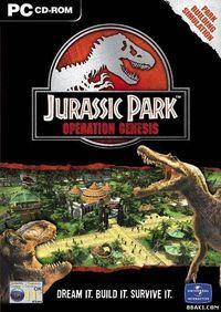 Portada oficial de Jurassic Park: Project Genesis para PC