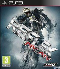 Portada oficial de MX vs. ATV. Reflex para PS3