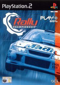 Portada oficial de Rally Championship para PS2