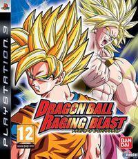 Portada oficial de Dragon Ball: Raging Blast para PS3