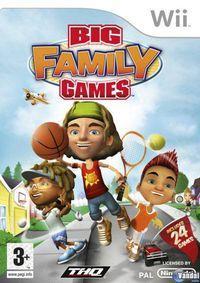 Portada oficial de Big Family Games para Wii