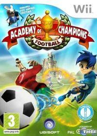Portada oficial de Escuela de Campeones para Wii