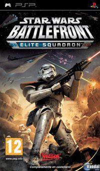 Portada oficial de Star Wars: Battlefront - Elite Squadron para PSP