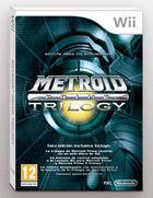Portada oficial de de Metroid Prime Trilogy para Wii