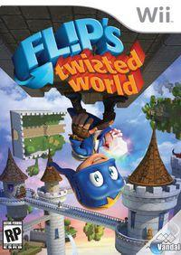 Portada oficial de Flip's Twisted World para Wii