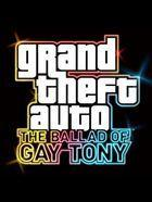 Portada oficial de de Grand Theft Auto IV: The Ballad of Gay Tony para Xbox 360