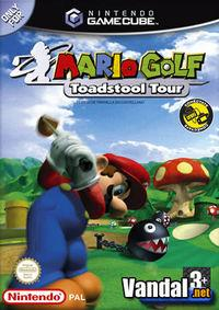 Portada oficial de Mario Golf: Toadstool Tour para GameCube