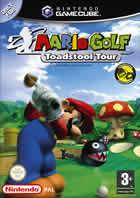 Portada oficial de de Mario Golf: Toadstool Tour para GameCube