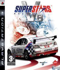 Portada oficial de Superstars V8 Racing para PS3