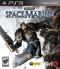 Portada oficial de Warhammer 40.000: Space Marine para PS3