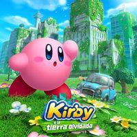 Portada oficial de Kirby y la tierra olvidada para Switch