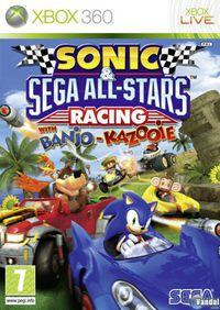 Portada oficial de Sonic and SEGA All-Stars Racing para Xbox 360