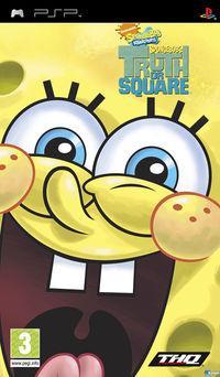 Portada oficial de SpongeBob's Truth or Square para PSP