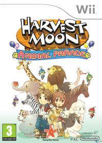 Portada oficial de Harvest Moon: Desfile de Animales para Wii