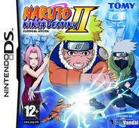 Portada oficial de Naruto Shippuden: Ninja Destiny 2 para NDS