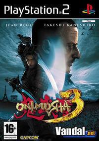 Portada oficial de Onimusha 3 para PS2
