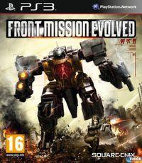Portada oficial de Front Mission Evolved para PS3