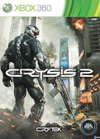 Portada oficial de Crysis 2 para Xbox 360