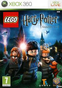 Portada oficial de LEGO Harry Potter: Years 1-4 para Xbox 360