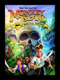Portada oficial de The Secret of Monkey Island: Special Edition para PC