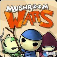 Portada oficial de Mushroom Wars PSN para PS3