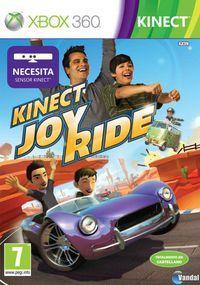 Portada oficial de Kinect Joy Ride para Xbox 360