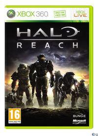 Portada oficial de Halo Reach para Xbox 360