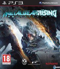 Portada oficial de Metal Gear Rising: Revengeance para PS3
