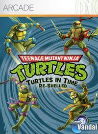 Portada oficial de Teenage Mutant Ninja Turtles: Turtles In Time Re-Shelled XBLA para Xbox 360