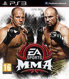 Portada oficial de de EA Sports: MMA para PS3