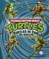Portada oficial de Teenage Mutant Ninja Turtles: Turtles In Time Re-Shelled PSN para PS3