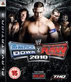 Portada oficial de de WWE SmackDown vs RAW 2010 para PS3