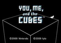 Portada oficial de You, Me and the Cubes WiiW para Wii