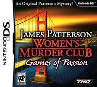Portada oficial de James Patterson Women´s Murder Club: Games of Passion para NDS