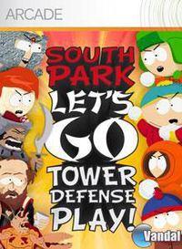 Portada oficial de South Park Let's Go Tower Defense Play! XBLA para Xbox 360