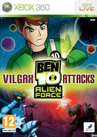 Portada oficial de Ben 10 Alien Force: Vilgax Attacks para Xbox 360